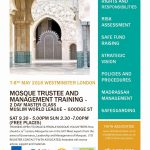Mosque Trustee & Management Training (Westminster)